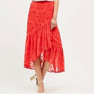 Anthropologie HD in Paris pescara midi skirt